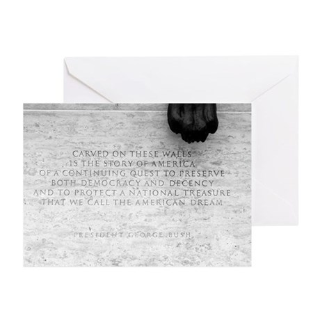 National Law Officers Memorial Greeting Cards (Pac