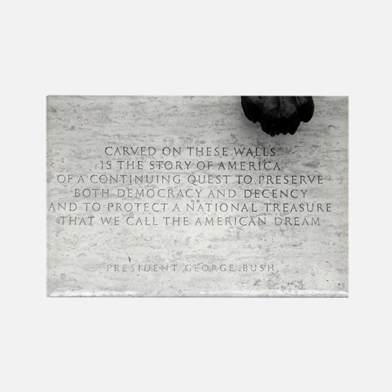 National Law Officers Memorial Rectangle Magnet