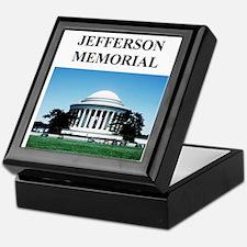 jefferson memorial gifts and Keepsake Box
