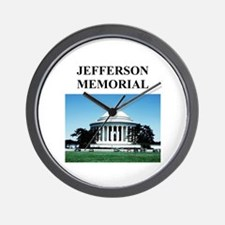 jefferson memorial gifts and Wall Clock
