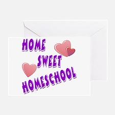 Home Sweet Homeschool Greeting Card