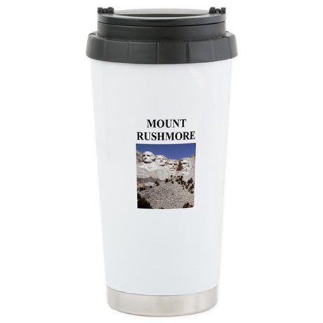 mount rushmore gifts and t-sh Stainless Steel Trav