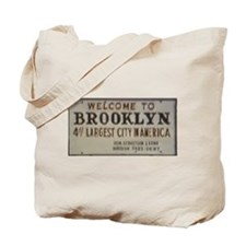 Welcome to Brooklyn Tote Bag