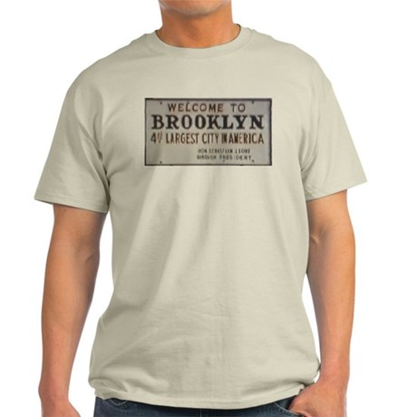 Welcome to Brooklyn Light T-Shirt