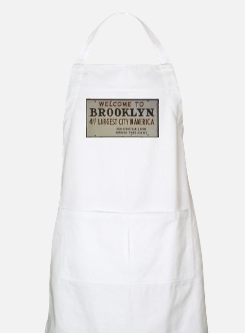 Welcome to Brooklyn BBQ Apron