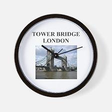 tower bridge london gifts and Wall Clock