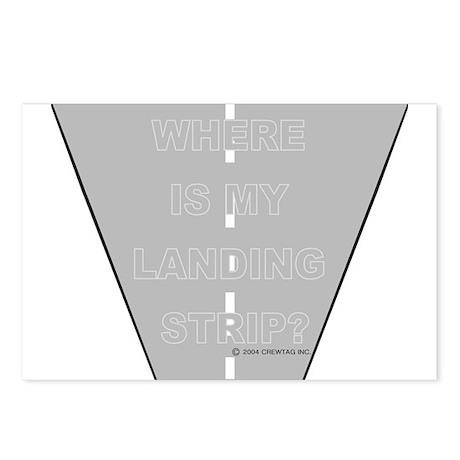 *NEW DESIGN* Where is my Landing Strip? Postcards