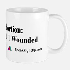 Abortion; 1 Dead, 1 Wounded! Mug