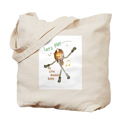 My Little Mandolin Buddy Tote Bag