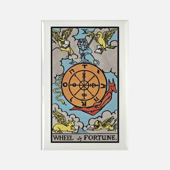 Wheel of Fortune Rectangle Magnet