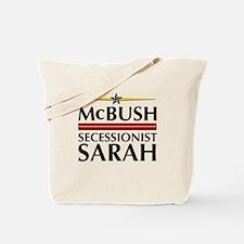 McBush/Secessionist Sarah '08 Tote Bag