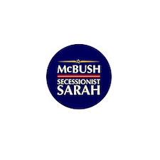 McBush/Secessionist Sarah '08 Mini Button (10 pack