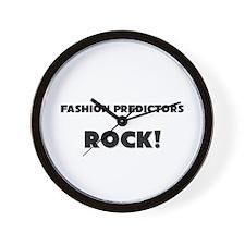 Fashion Predictors ROCK Wall Clock