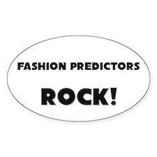 Fashion Predictors ROCK Oval Sticker
