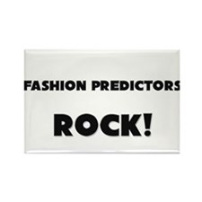 Fashion Predictors ROCK Rectangle Magnet