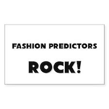Fashion Predictors ROCK Rectangle Sticker