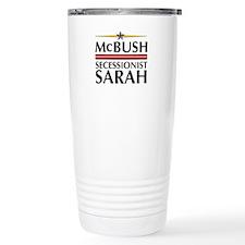McBush/Secessionist Sarah '08 Travel Mug