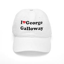 I Heart George Galloway (+Quote) Baseball Cap