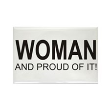 The Proud Woman Rectangle Magnet