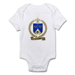 GAUTHIER Family Crest Infant Creeper