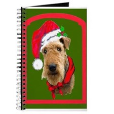 Airedale Christmas Journal