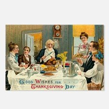 Good Thanksgiving Wishes Postcards (Package of 8)