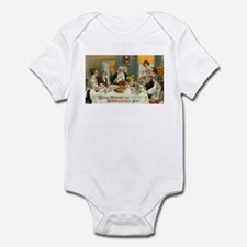Good Thanksgiving Wishes Infant Bodysuit