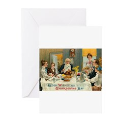 Good Thanksgiving Wishes Greeting Cards (Pk of 20)