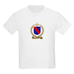 GAREAU Family Crest Kids T-Shirt