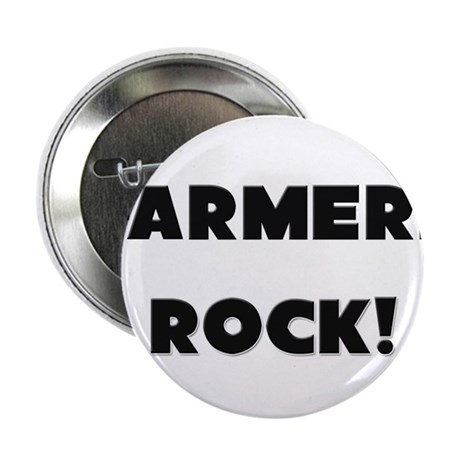 """Farmers ROCK 2.25"""" Button (10 pack)"""