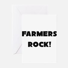 Farmers ROCK Greeting Cards (Pk of 10)