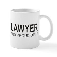 The Proud Lawyer Mug