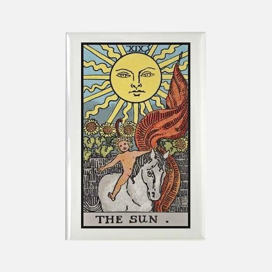 The Sun Rectangle Magnet