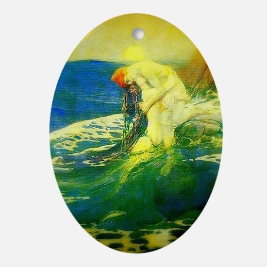 Mermaid Keepsake (Oval)