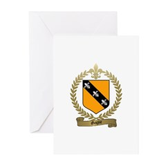 GAGNE Family Crest Greeting Cards (Pk of 10)