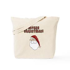 Merry Christmas Santa Clause Tote Bag