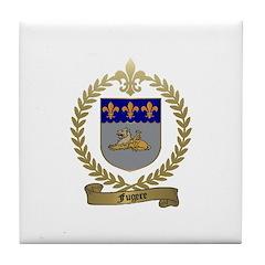 FUGERE Family Crest Tile Coaster