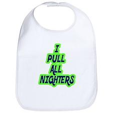 All Nighters Bib