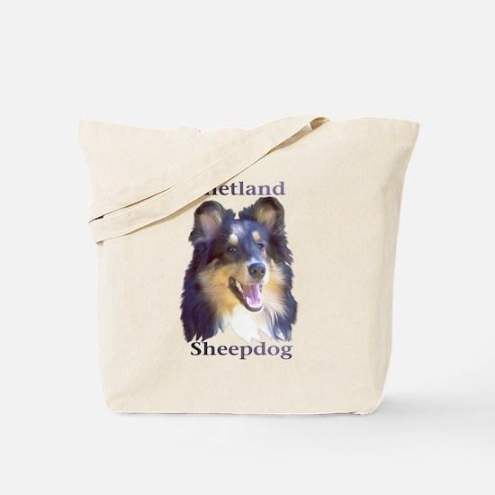 Shetland Sheepdog Tote Bag