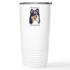 Shetland Sheepdog Travel Coffee Mug