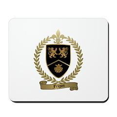 FRIGON Family Crest Mousepad