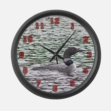 Loon Large Wall Clock