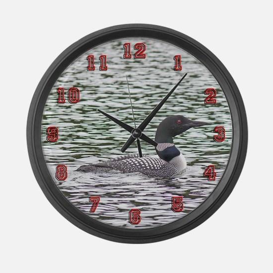 Loon Large Wall Clock