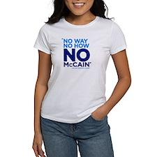 No McCain Tee