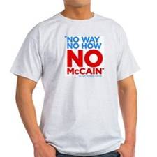 No McCain T-Shirt