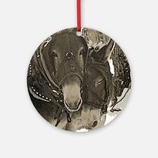 Companions Ornament (Round)