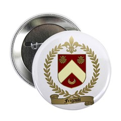 FRIGAULT Family Crest Button
