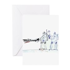 Funny Military children Greeting Cards (Pk of 10)