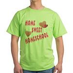 Home Sweet Homeschool Green T-Shirt