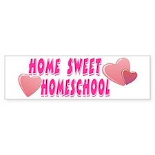 Home Sweet Homeschool Bumper Bumper Sticker